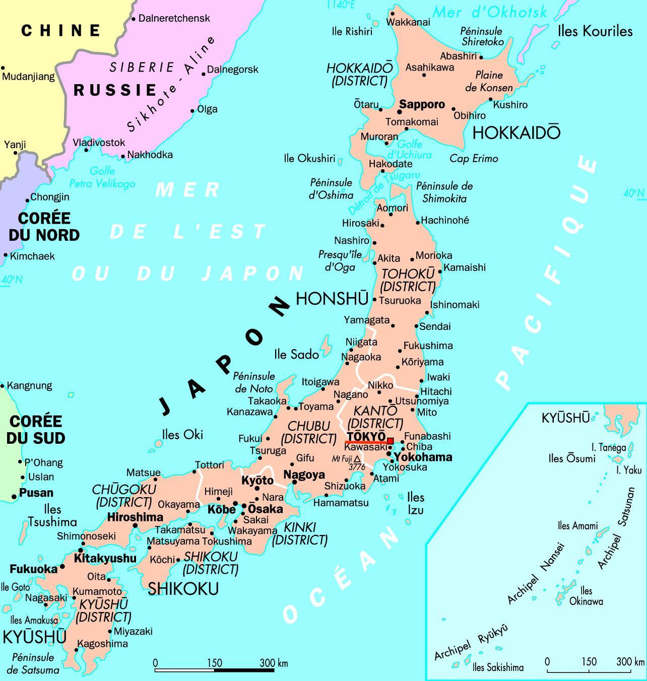 Tokyo Japan Map Map Of Japan Tokyo Kantō Japan - Japan map yokohama tokyo