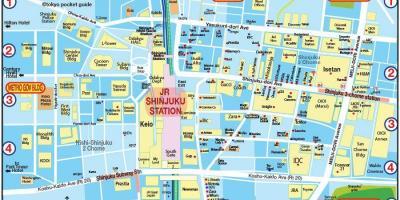 Tokyo map Maps Tokyo Kant Japan